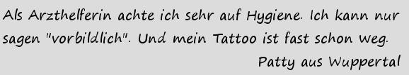 Tattooentfernung Erfahrungen Wuppertal